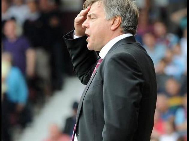 Allardyce unhappy with poor start