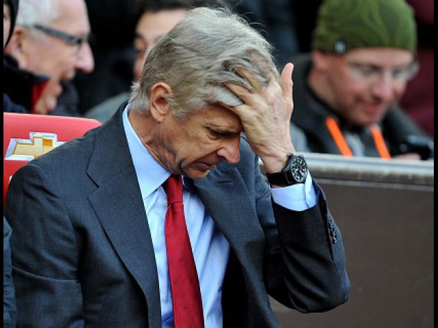 Wenger frustrated by slack Gunners