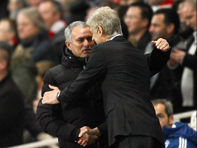 Jose reminds Wenger of bad times
