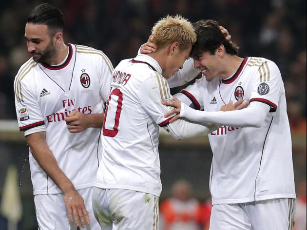 Honda breaks Serie A duck with crucial Milan winner