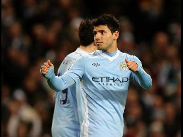 Aguero tells City to have no fear of Stoke