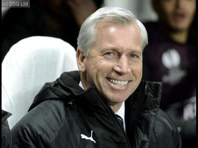 Alan Pardew excited by Euro progression