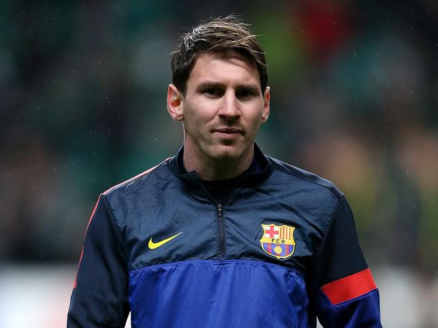New Barcelona deal for Lionel Messi