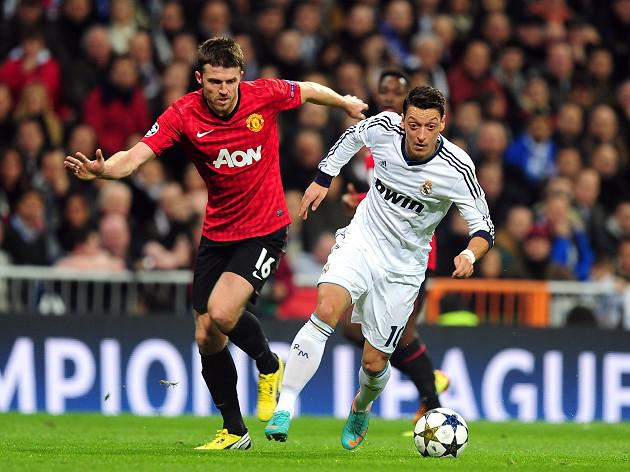 Manchester United midfielder Michael Carrick relishing Madrid clash