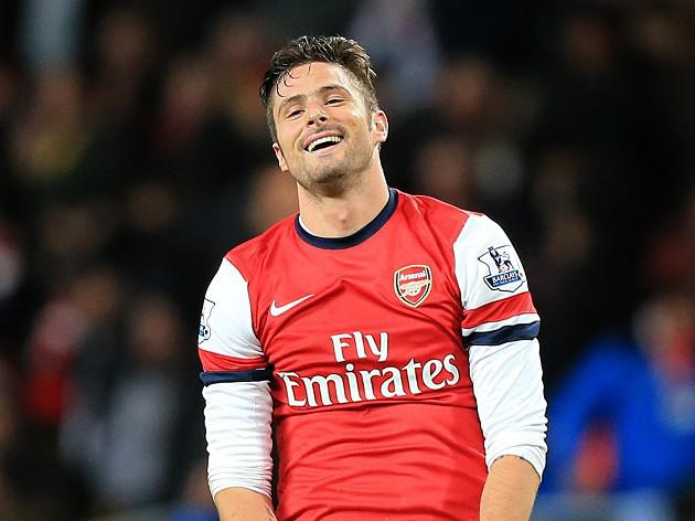 Giroud accepts rotation policy