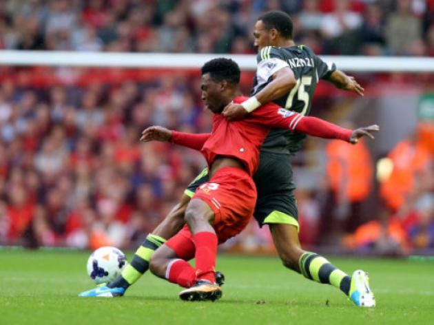 Sturridge strikes as Liverpool thrive without Suarez
