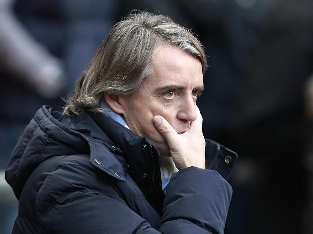 FA await Mancini response after Manchester City's defeat at Sunderland