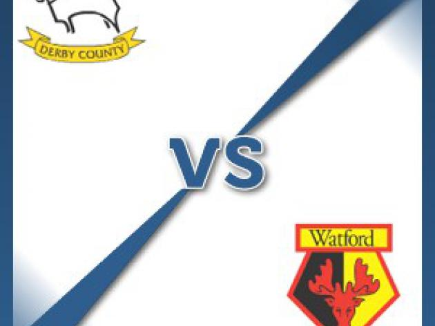 Watford away at Derby County - Follow LIVE text commentary
