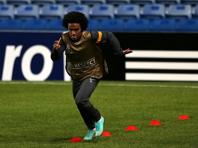 Chelsea's Willian move news to AVB