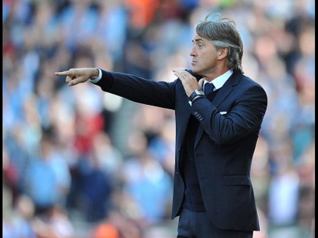 Mancini calm ahead of Real test