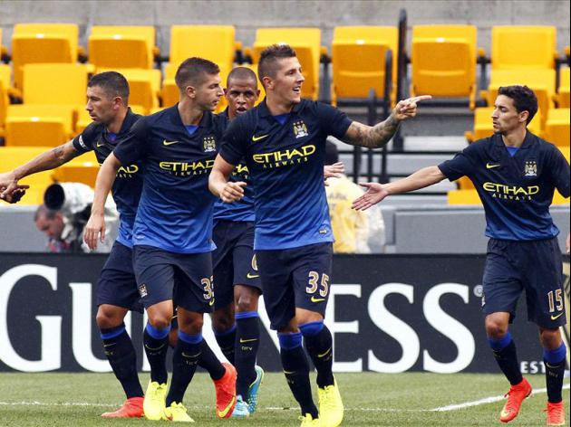 Jovetic brace lifts Man City over AC Milan in friendly