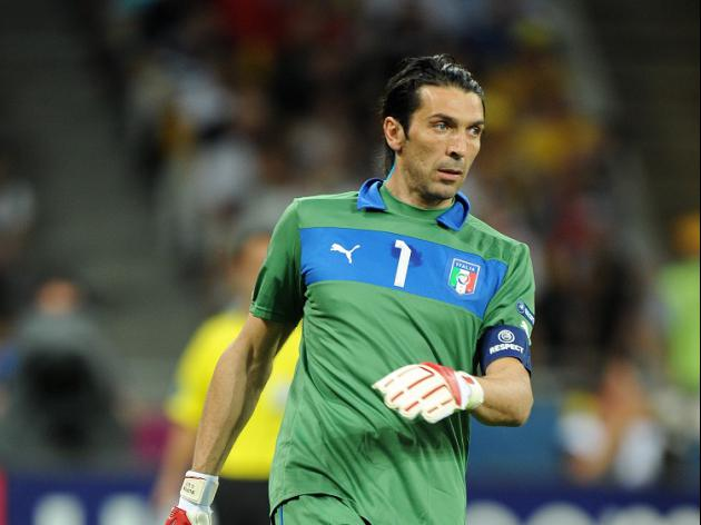 Buffon missing for Italy