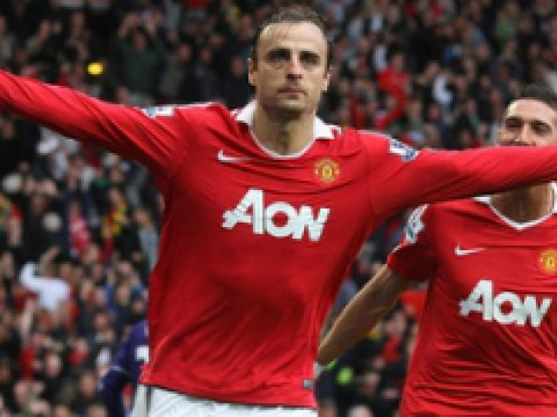 Vidic: United never doubted Berbatov