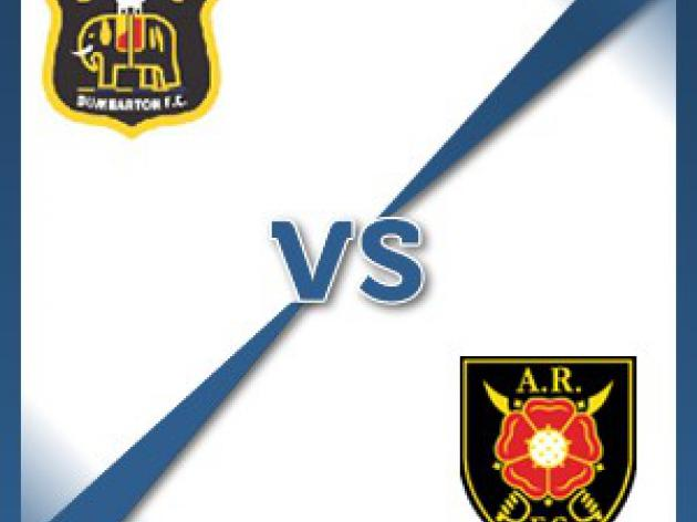 Albion Rovers away at Dumbarton - Follow LIVE text commentary