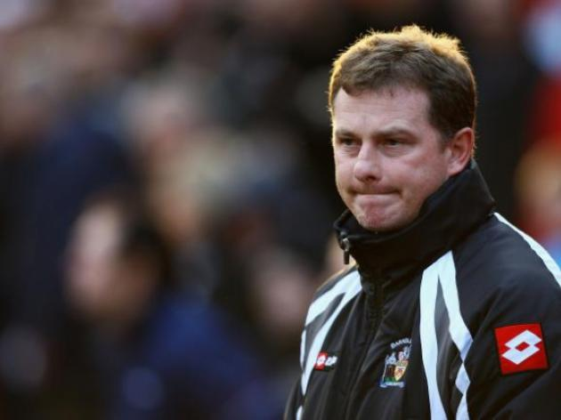 Mark Robins refused to blame side for semi final defeat