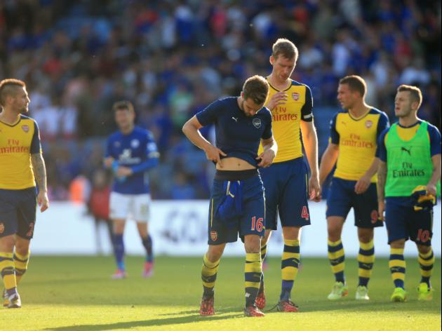 Unbeaten Arsenal in crisis?