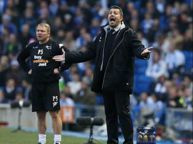 Brighton boss Garcia rues 'unfair' defeat