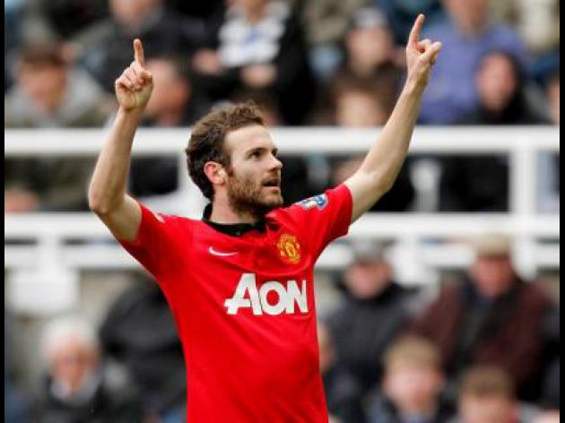 Mata at the double in United win