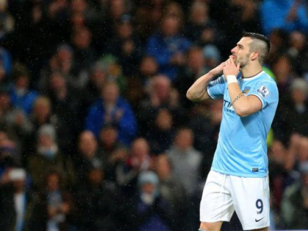 Manchester City's Alvaro Negredo wins FTBpro PFA Fans' Player of the Month award for December