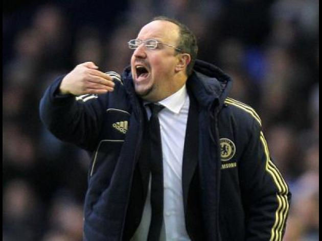 Chelsea Boss Rafael Benitez says 'All I can do is win'