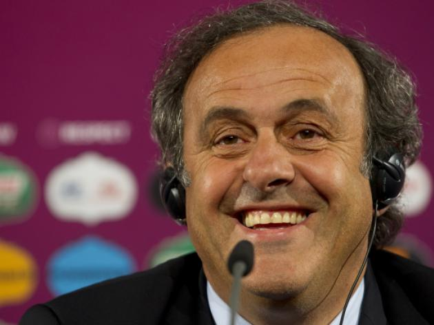 Platini tips a Spain v Germany final