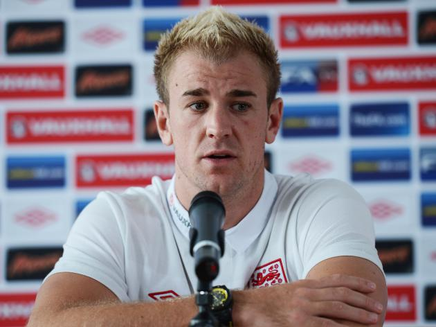 We're here to win says England keeper Hart