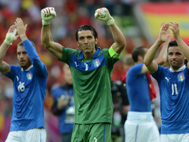 Italian press hail Azzurri draw
