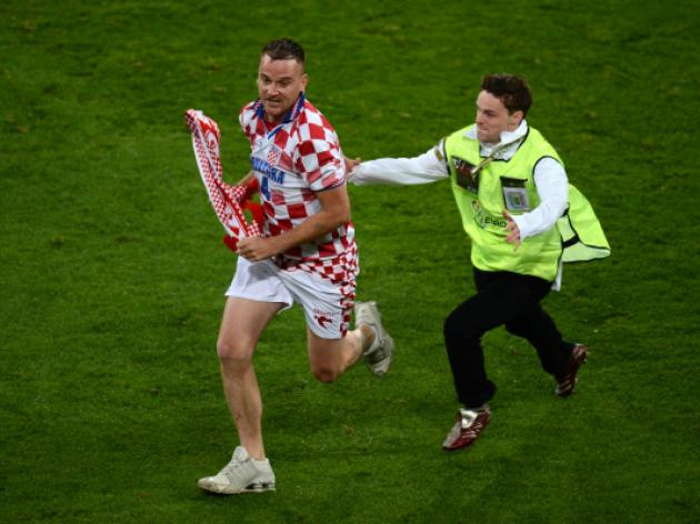 Croatia fined over crowd trouble at Ireland match