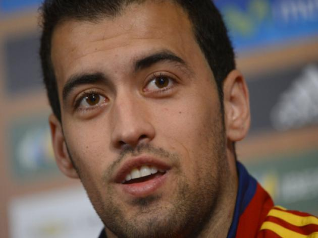 Busquets says patience a virtue against Irish