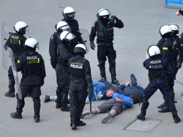 515 held by Polish police since Euro 2012