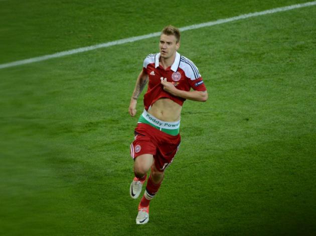 Bendtner fined and suspended for goal celebration