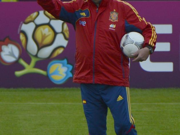 Del Bosque quashes talk of playing for draw