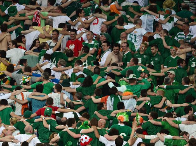 Special award for 'impressive' Irish fans