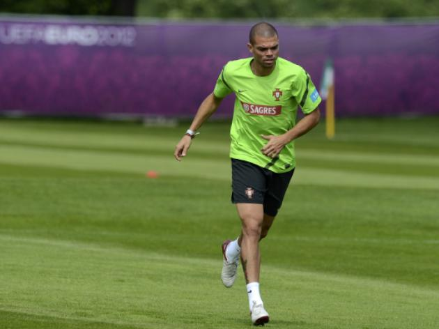 Pepe boosts Portuguese in return to training