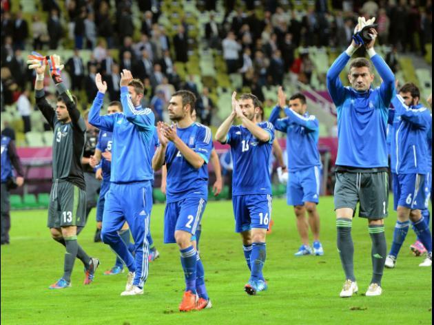 Greek media proud of showing against Germans