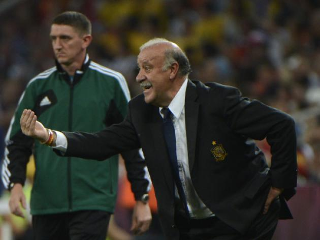 Spain deserve more credit, says Del Bosque