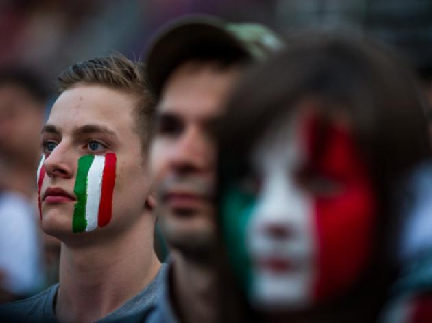 Italian fan dies amid Euro 2012 celebrations