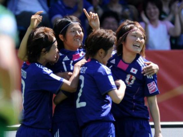 Japan get off to winning start at World Cup