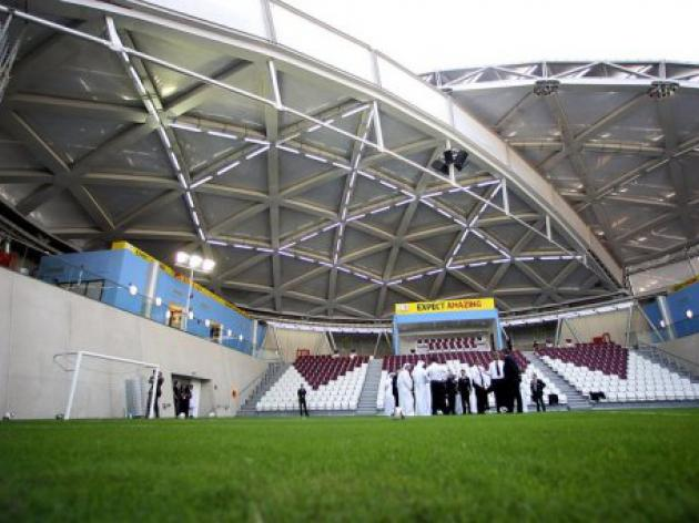 Qatar denies W. Cup to have 'games of three thirds'