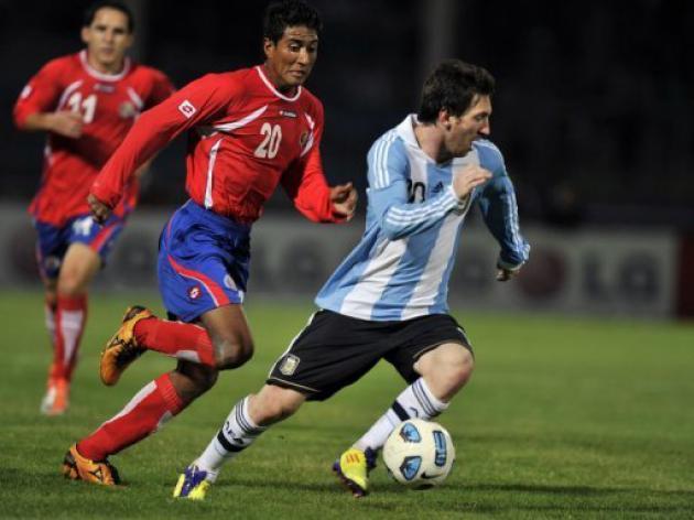 Argentina swamp Costa Rica in Copa America