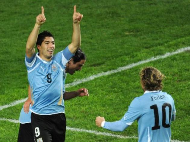 Uruguay oust Peru to reach Copa America final