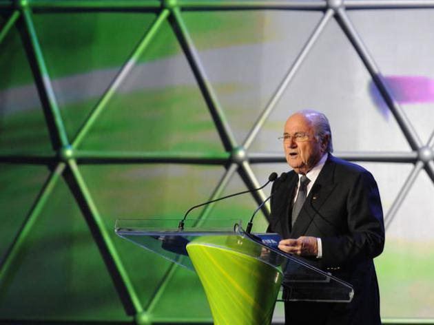 World Cup needs legacy, says Blatter