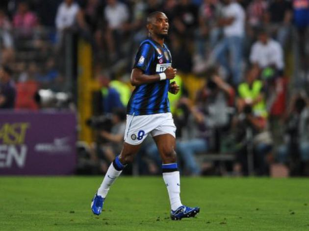 Russian club Anzhi in talks for Inter's Eto'o