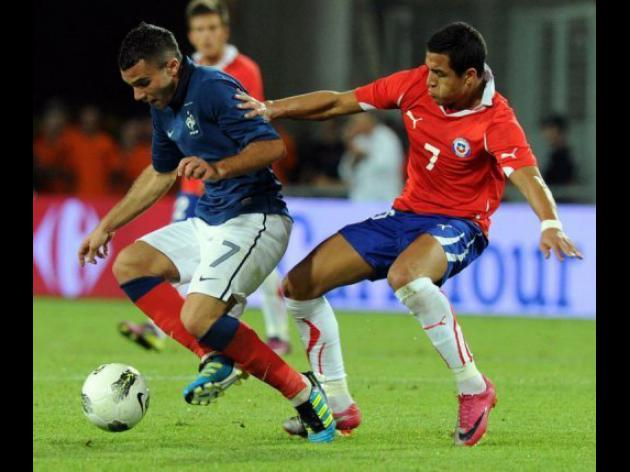 France 1-1 Chile: Match Report
