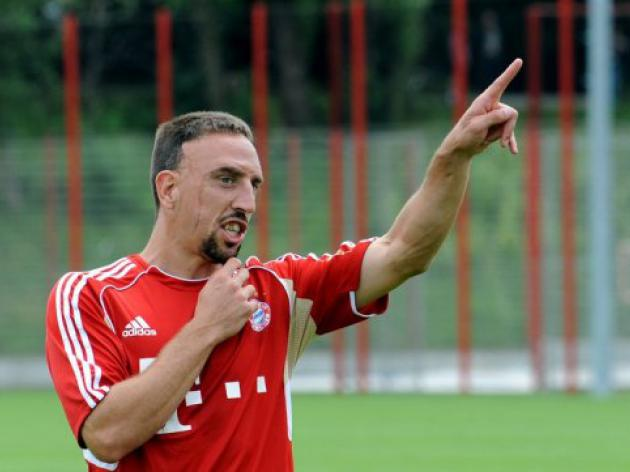 Ribery sets Bayern three wins target