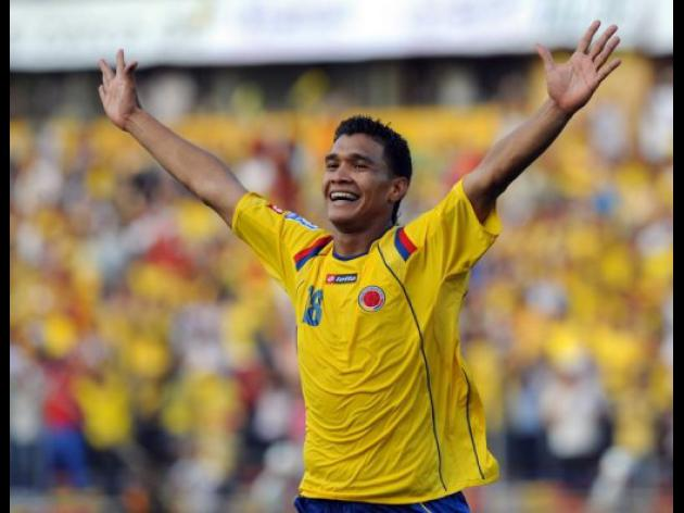 Gutierrez powers Colombia over Honduras