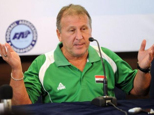 Iraq coach Zico slams Singapore pitch