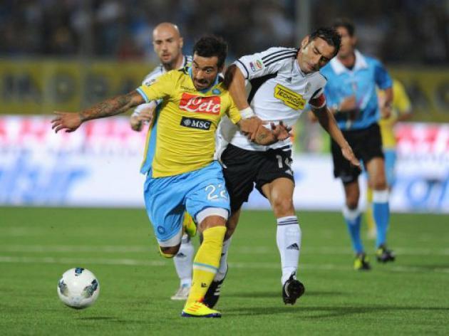 Napoli labour to Cesena victory