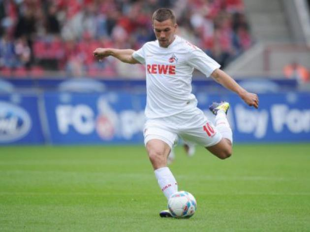 Cologne slam the form of Podolski