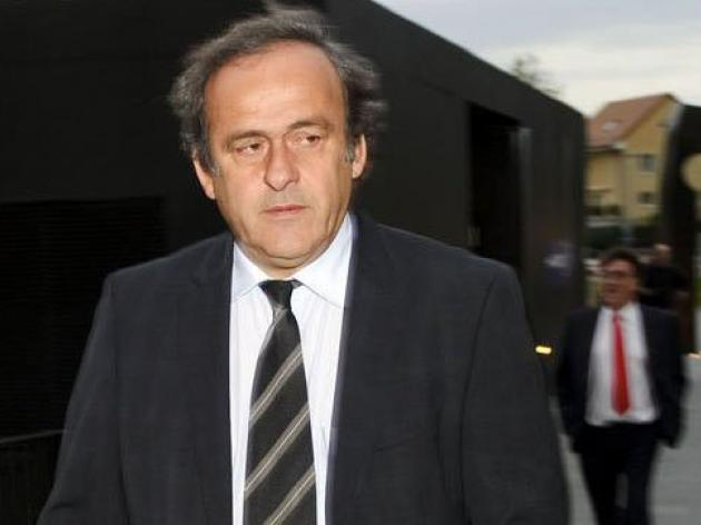 Swiss prosecutor hears UEFA's Platini in Sion case